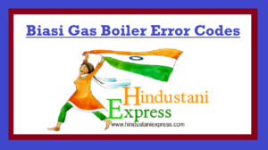 Biasi Gas Boiler Error Codes | Troubleshooting