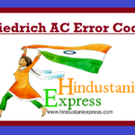 Friedrich AC Error Codes| Troubleshooting