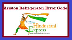 Ariston Refrigerator Error Codes