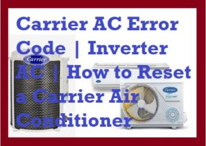 carrier ac error codes